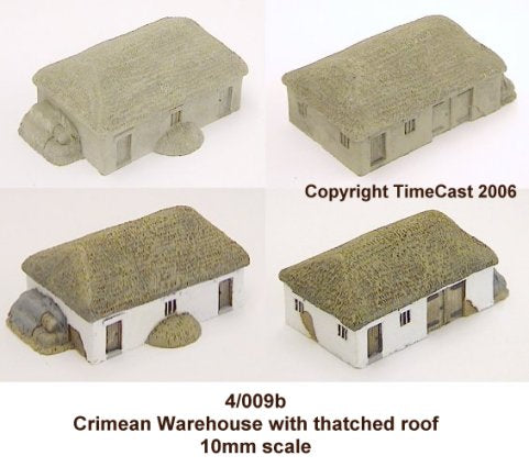 4/009b Crimean Warhouse-Thatched