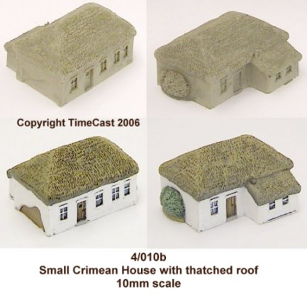 4/010b Small Crimean House-Thatched