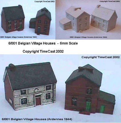 6/001 Two Belgian Village Houses