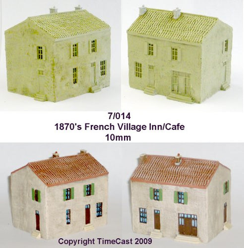 7/014 1870 French Village Inn or Cafe