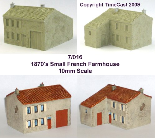 7/016 1870 Small French Farmhouse