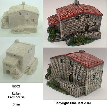8/002 Italian Farmhouse