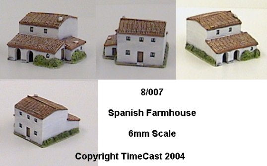 8/007 Large Spanish Farmhouse