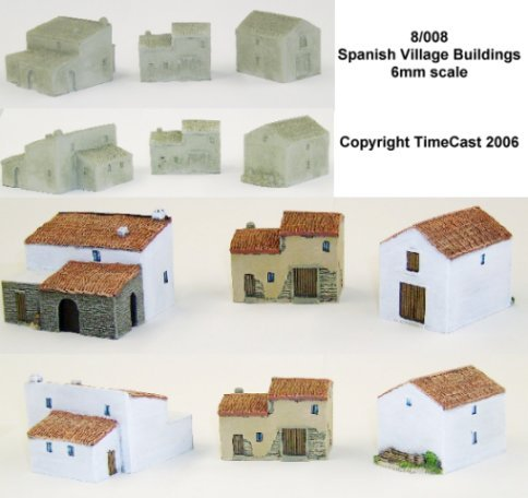 8/008 Spanish Village Buildings
