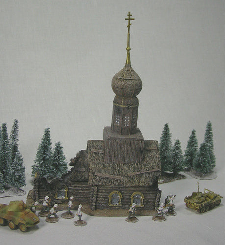 FOS3031 Battle Damaged Russian Church