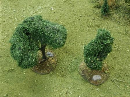 Tree Bases - Large (6 pcs) - Unfinished