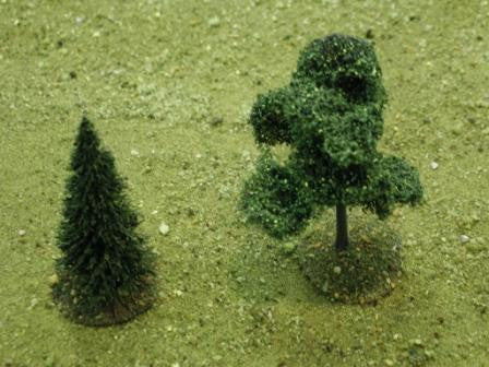 Tree Bases - Medium (6 pcs) - Unfinished