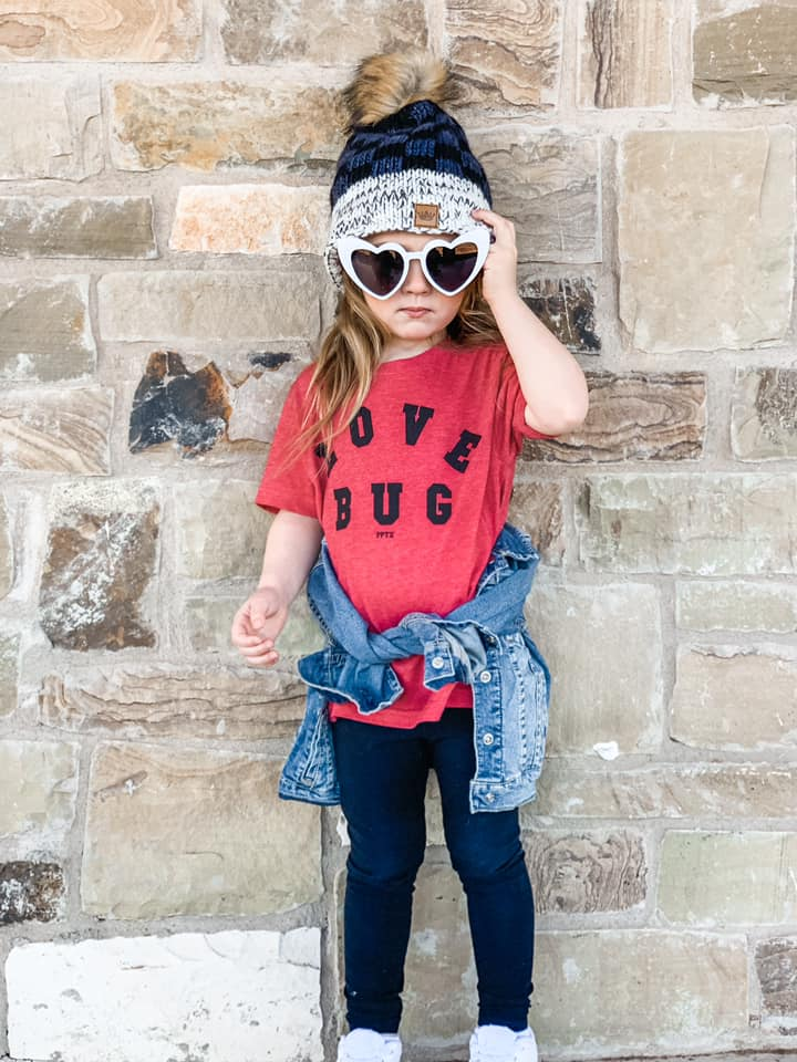Youth Love Bug Tee - the-attic-boutique-and-gift