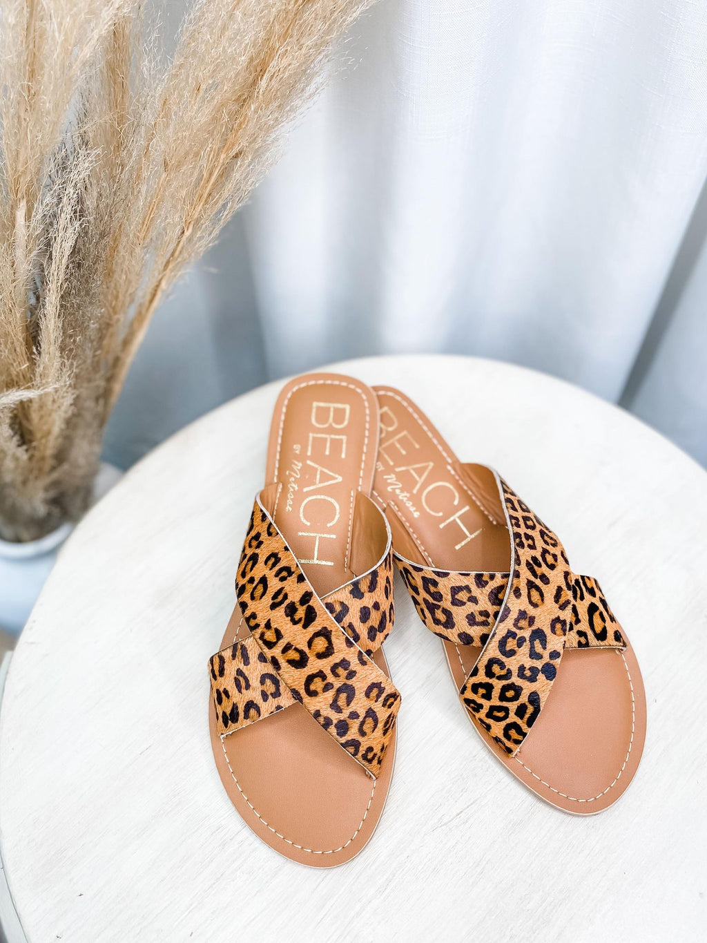 Pebble Leopard Sandal - the-attic-boutique-and-gift