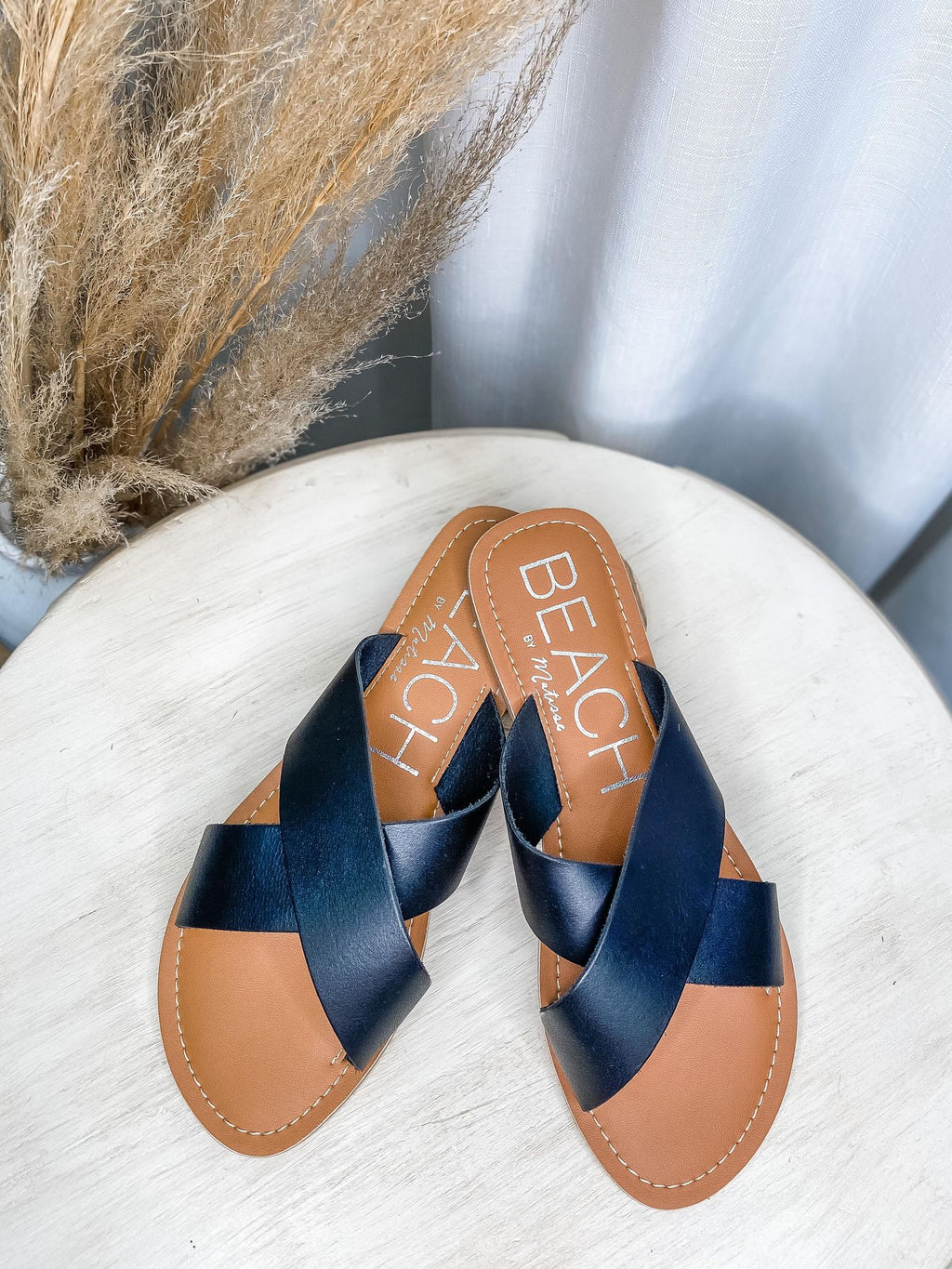 Pebble Black Sandal - the-attic-boutique-and-gift