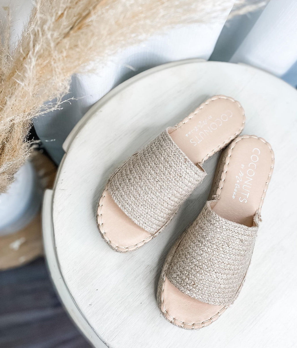 Del Mar Sandal Natural - the-attic-boutique-and-gift