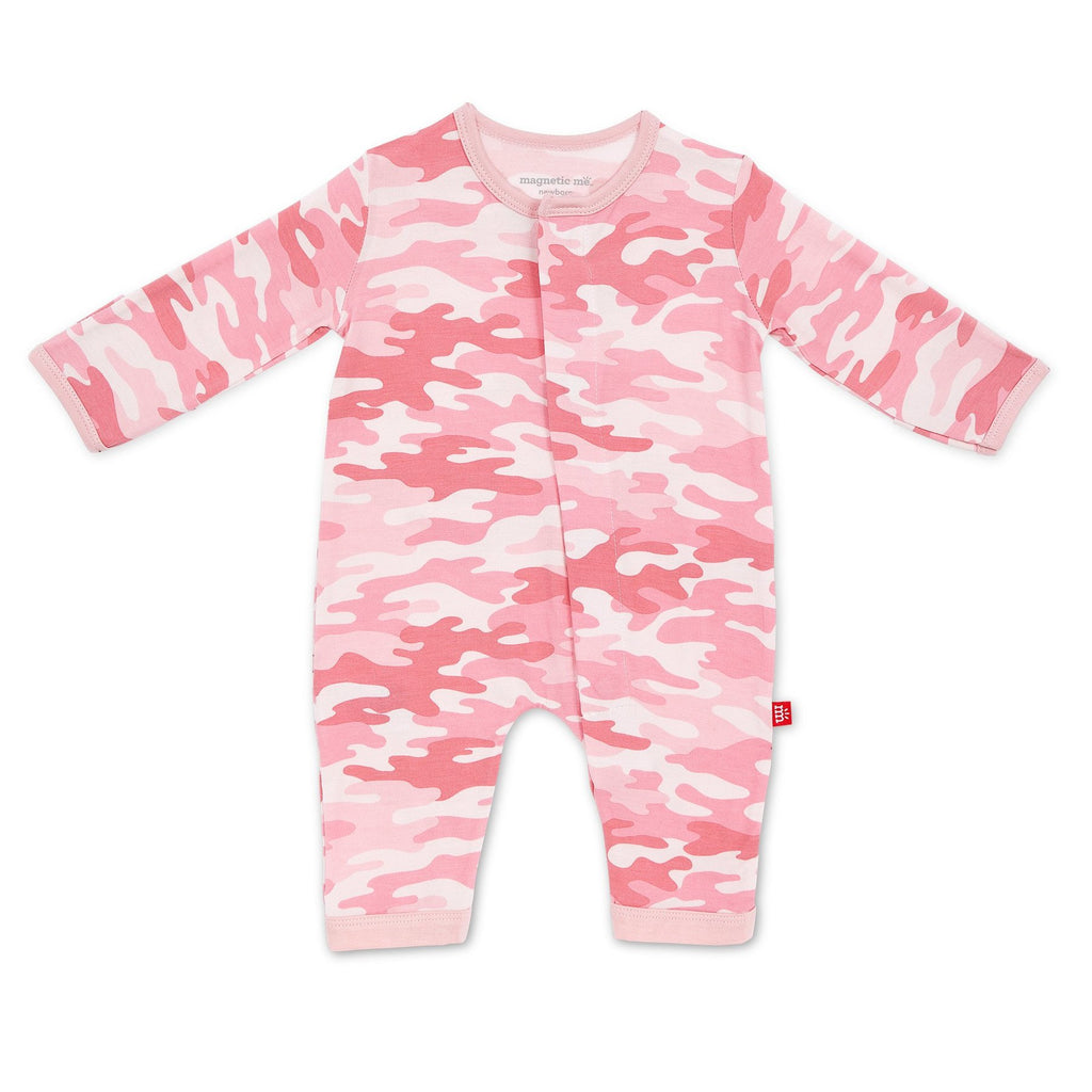 Pink Camo Footie - the-attic-boutique-and-gift