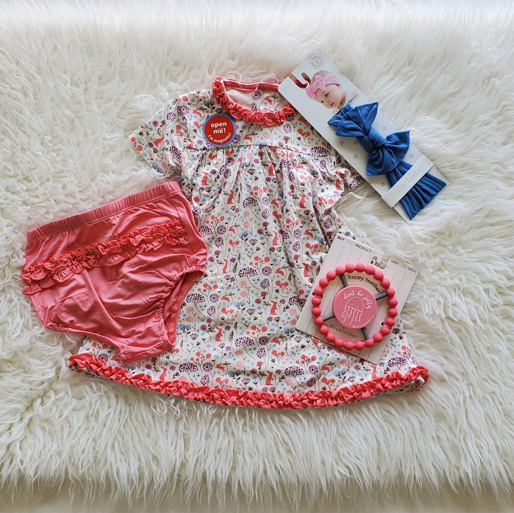 Beatrix Floral Dress Set - the-attic-boutique-and-gift