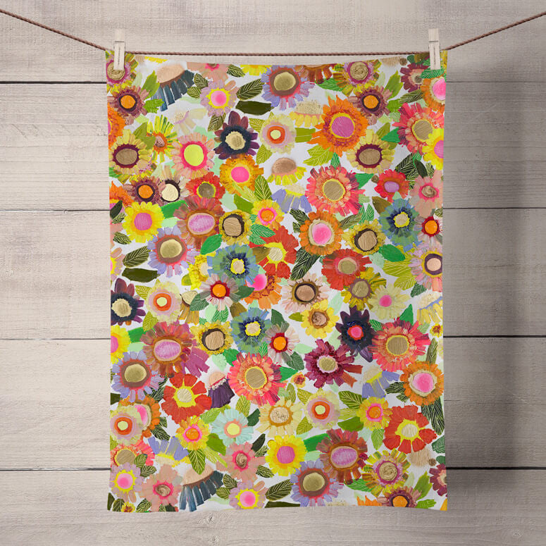 Blooms Towel - the-attic-boutique-and-gift