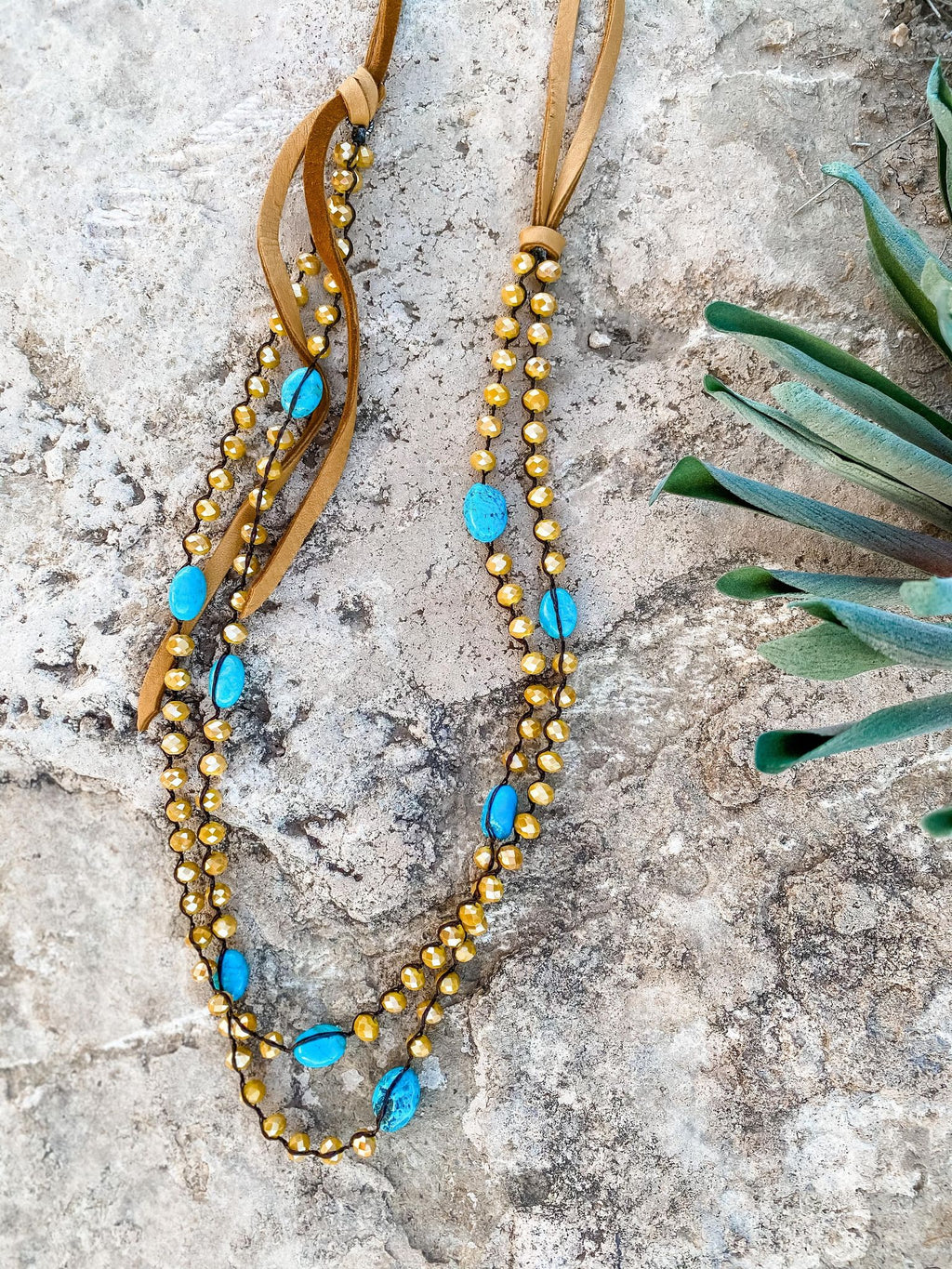 Crystal & Turquoise - the-attic-boutique-and-gift