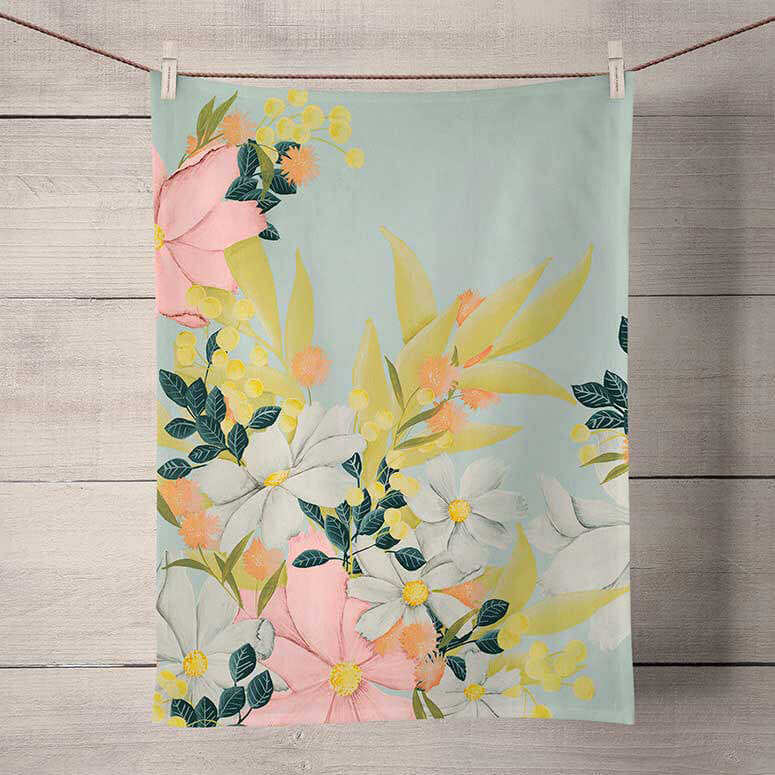 Flower Market Towel - the-attic-boutique-and-gift