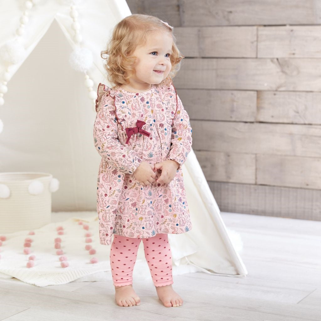 Forest Muslin Dress & Tight Set - the-attic-boutique-and-gift