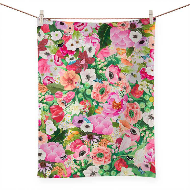 Haute House Floral Towel - the-attic-boutique-and-gift