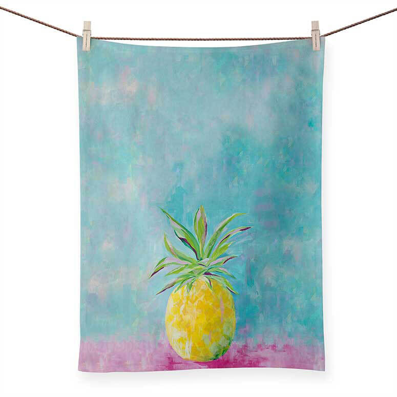 Painted Pineapple Towel - the-attic-boutique-and-gift