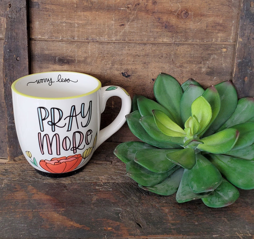 Pray More Mug - the-attic-boutique-and-gift