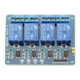 4 Channel 5V Relay Module Shield  For Arduino Raspberry PI with Optocoupler
