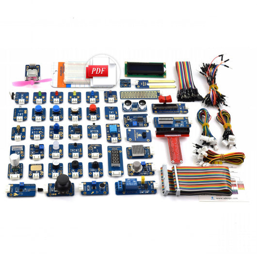 DIY Electronic Ultimate 46 in 1 Sensor Modules Kit for Raspberry Pi 3 2 B/B+ with Guidebook