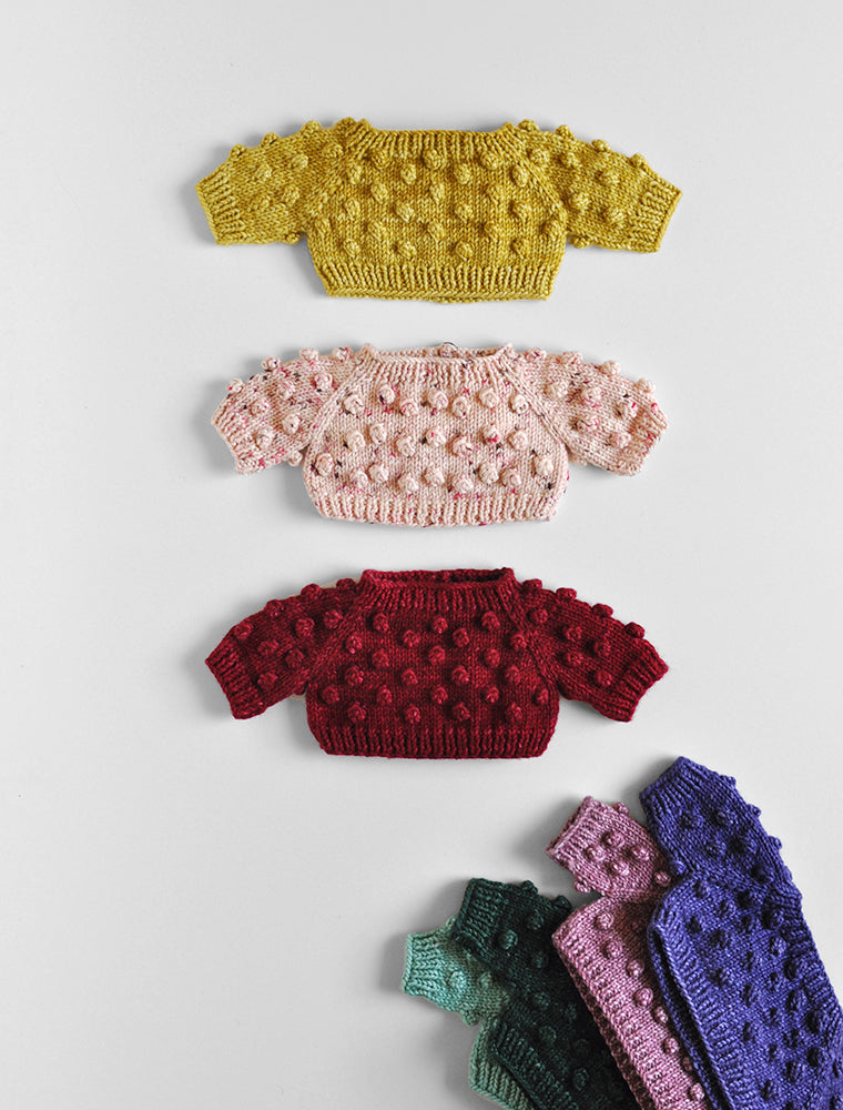 Misha & Puff Popcorn Sweater for the PDC