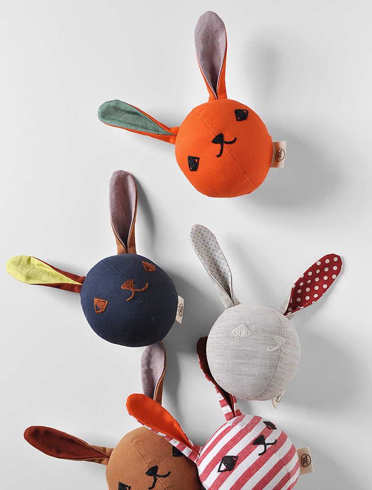 HOLIDAY SURPRISE- one of a kind- PDC Rattle Rabbits