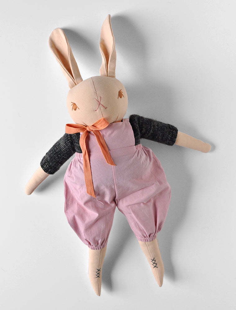 PDC Large Peach Rabbit- Louie
