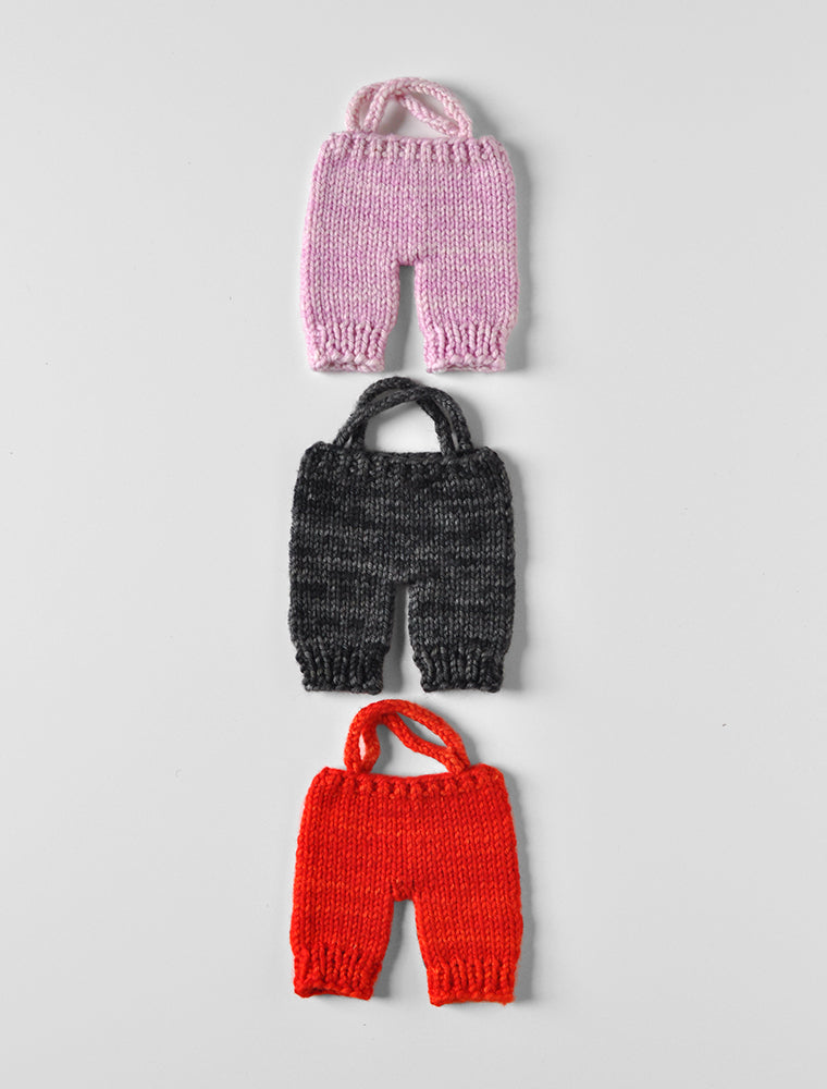 PDC Hand Knit Overalls- Small
