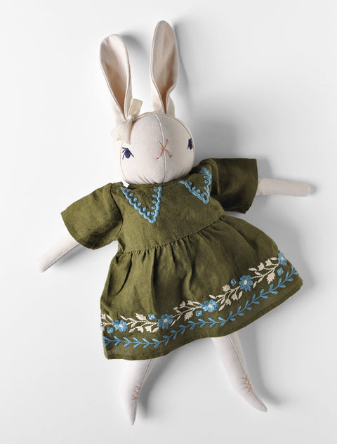 PDC + Apolina Large Cream Rabbit- Celine