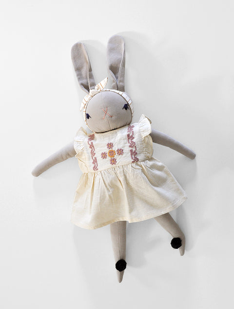 PDC + Apolina Large Cream Rabbit- Daphne