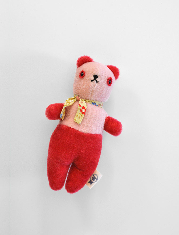 PDC + DÔEN hand dyed PDC Bear: pink/strawberry
