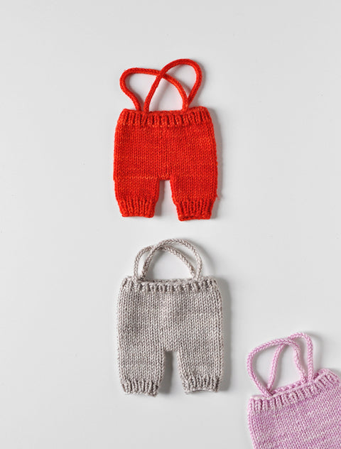 PDC Hand Knit Overalls- Medium