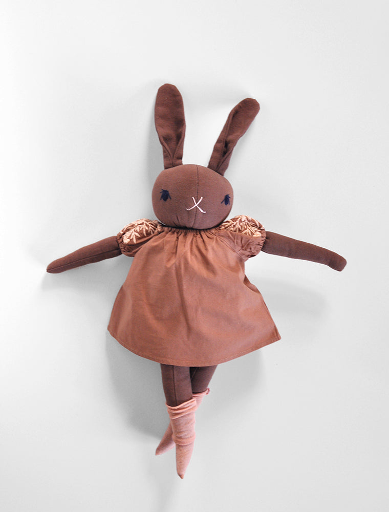 PDC + Apolina Brown Rabbit- Hazel