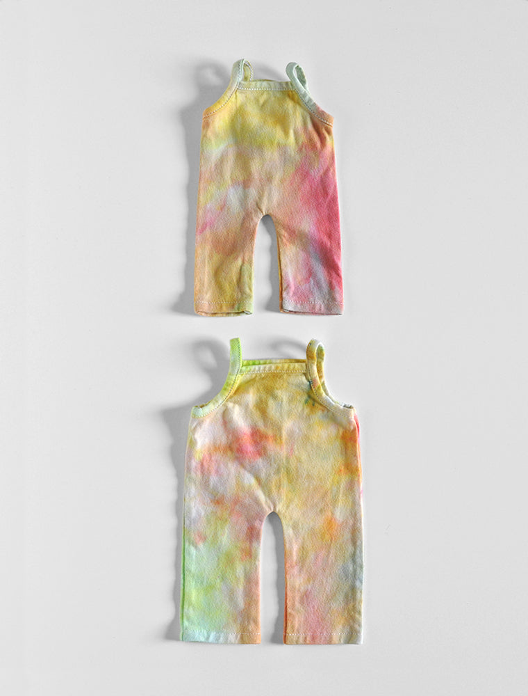 Onsie- hand dyed Rainbow