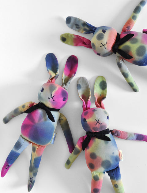 Hand Dyed Watercolor- PDC Medium Rabbit