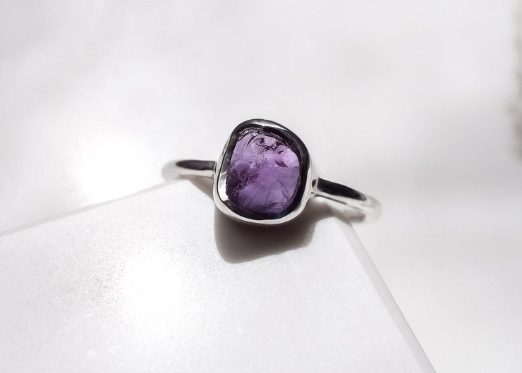 Purple Bliss Amethyst Ring
