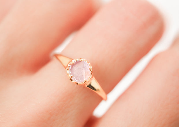 Purple Bliss III Amethyst Ring