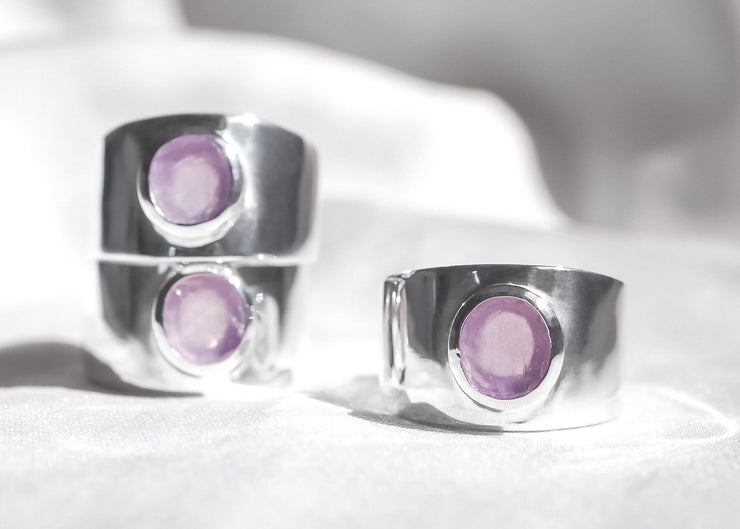 Purple Bliss IV Amethyst Ring