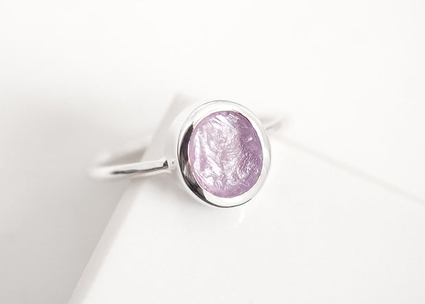 Purple Bliss II Amethyst Ring