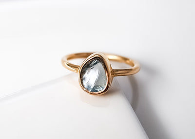 Jameela II Aquamarine Ring