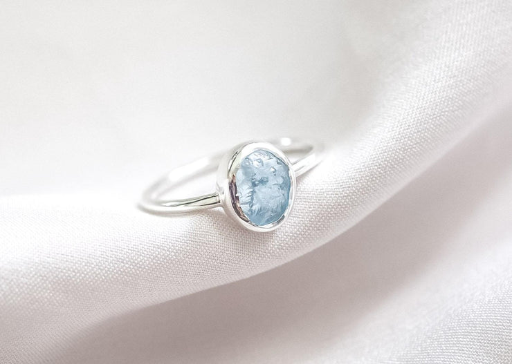 Jameela Aquamarine Ring