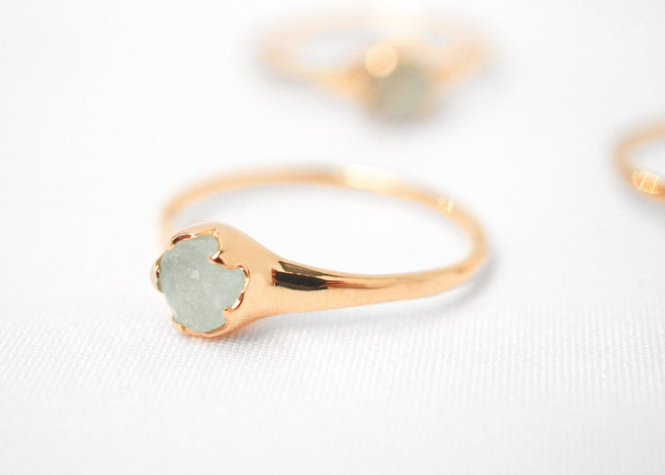 Jameela III Aquamarine Ring