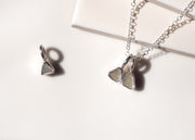 Horus <br> Raw Diamond Charm Necklace