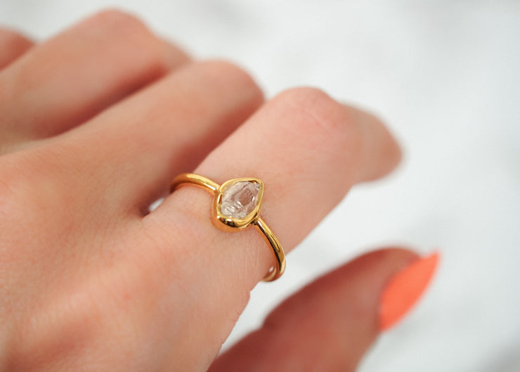 Lucy in The Sky Herkimer Diamond Ring