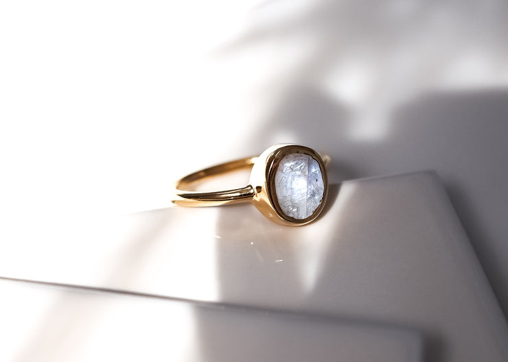 Lunaticious II Moonstone Ring