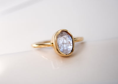 Lunaticious Moonstone Ring
