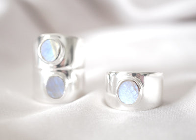 Lunaticious IV Moonstone Ring