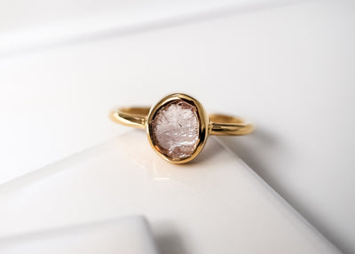 Jolene II Morganite Ring